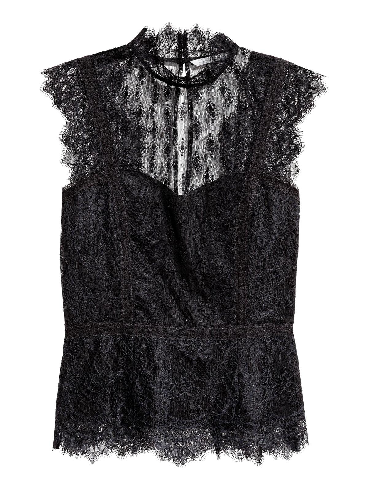 Блуза черная | 5702645