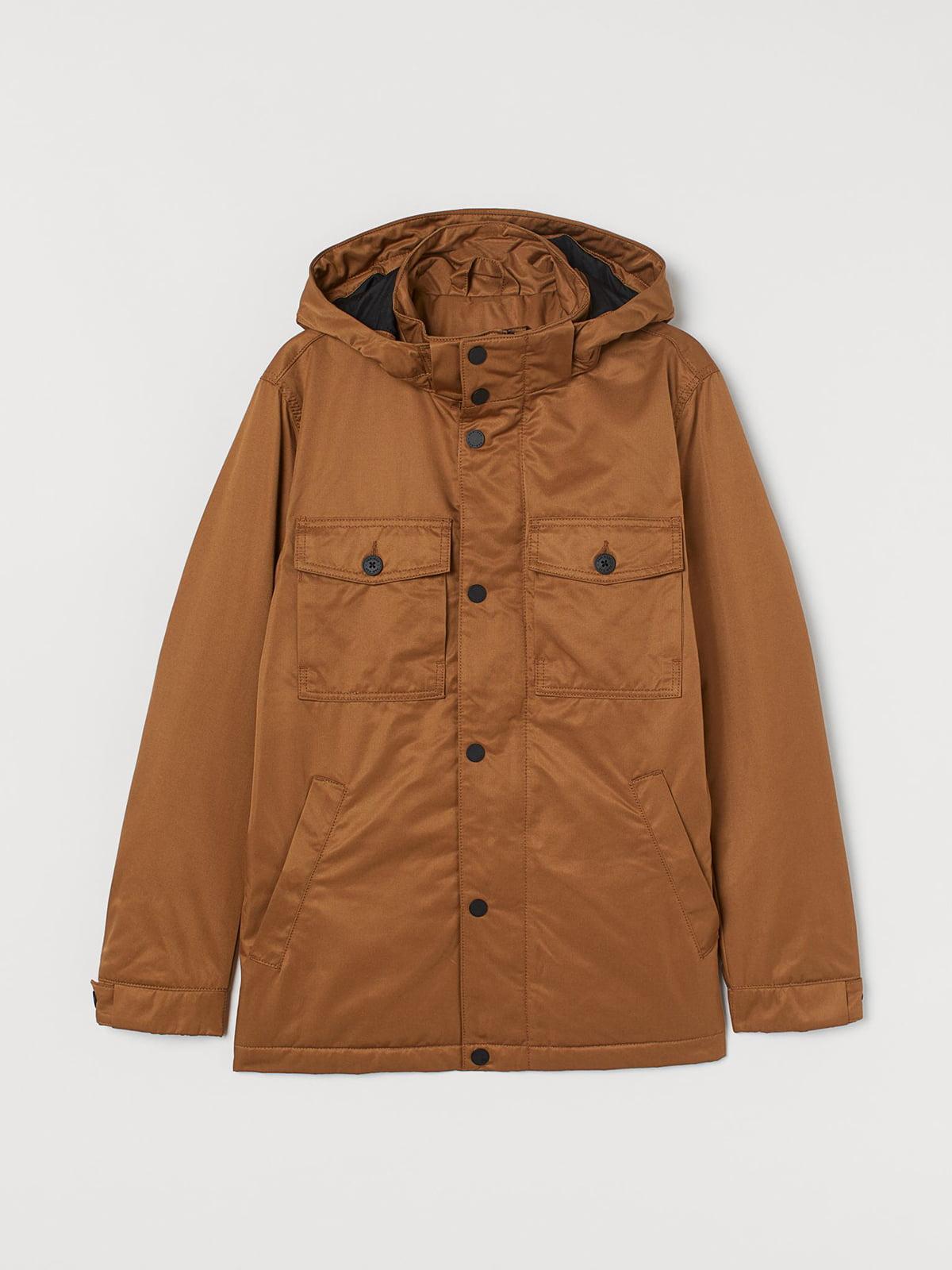 Куртка коричневого цвета   5702669