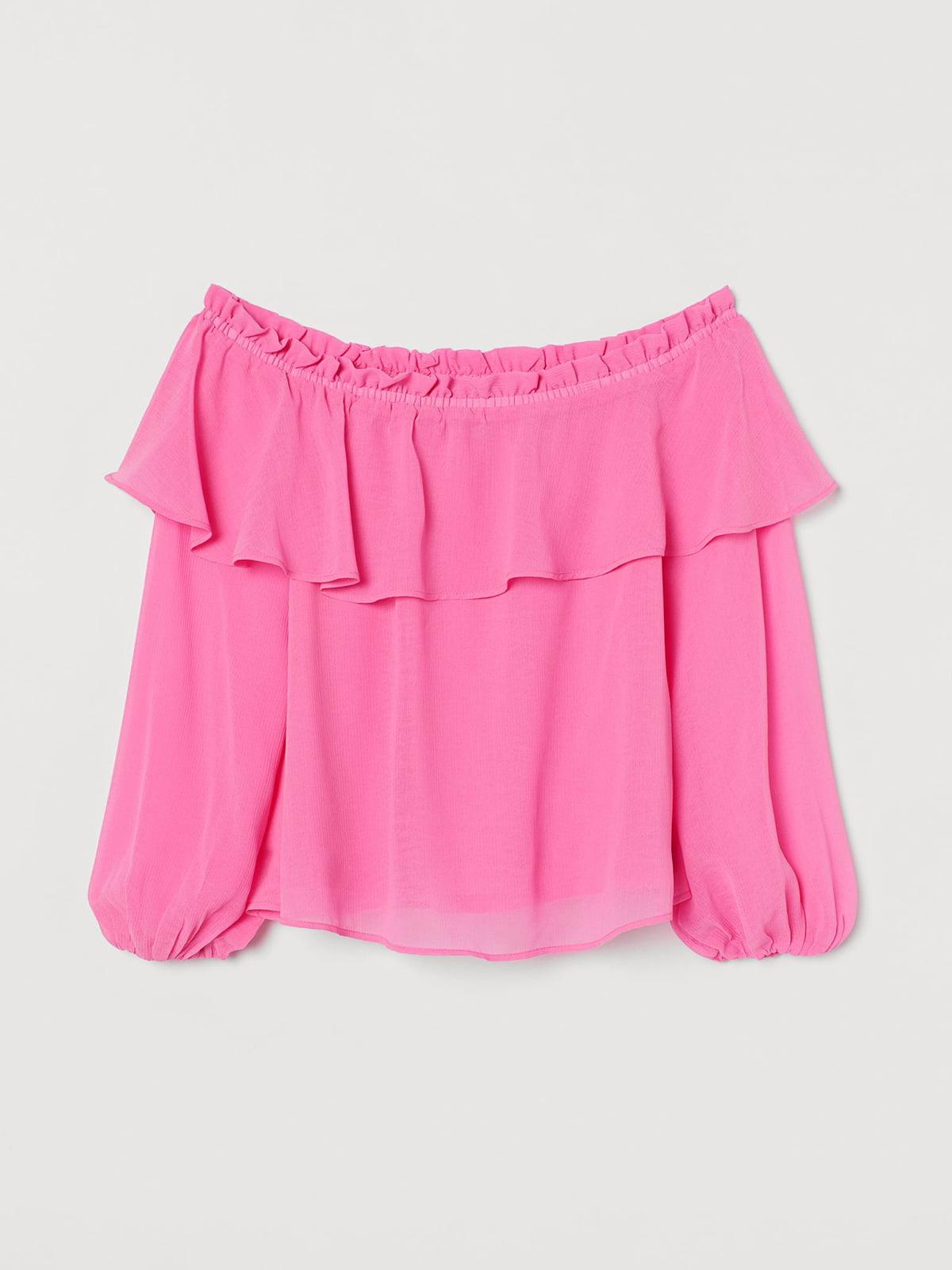 Блуза розового цвета   5702679