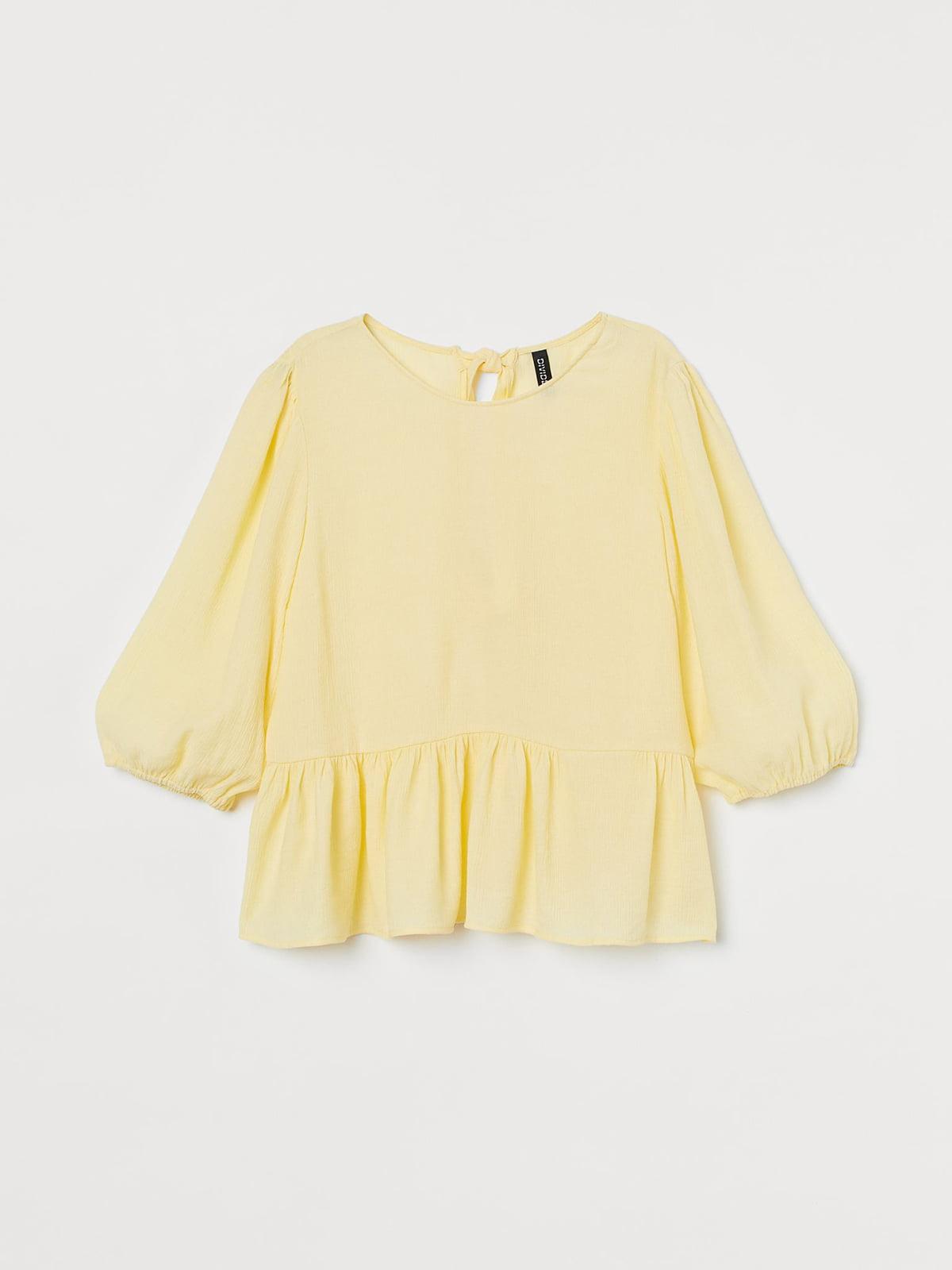 Блуза желтая | 5702834