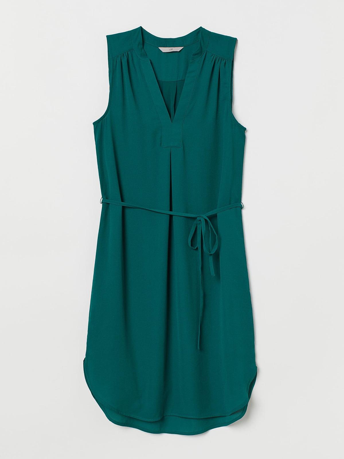 Платье зеленого цвета   5707233