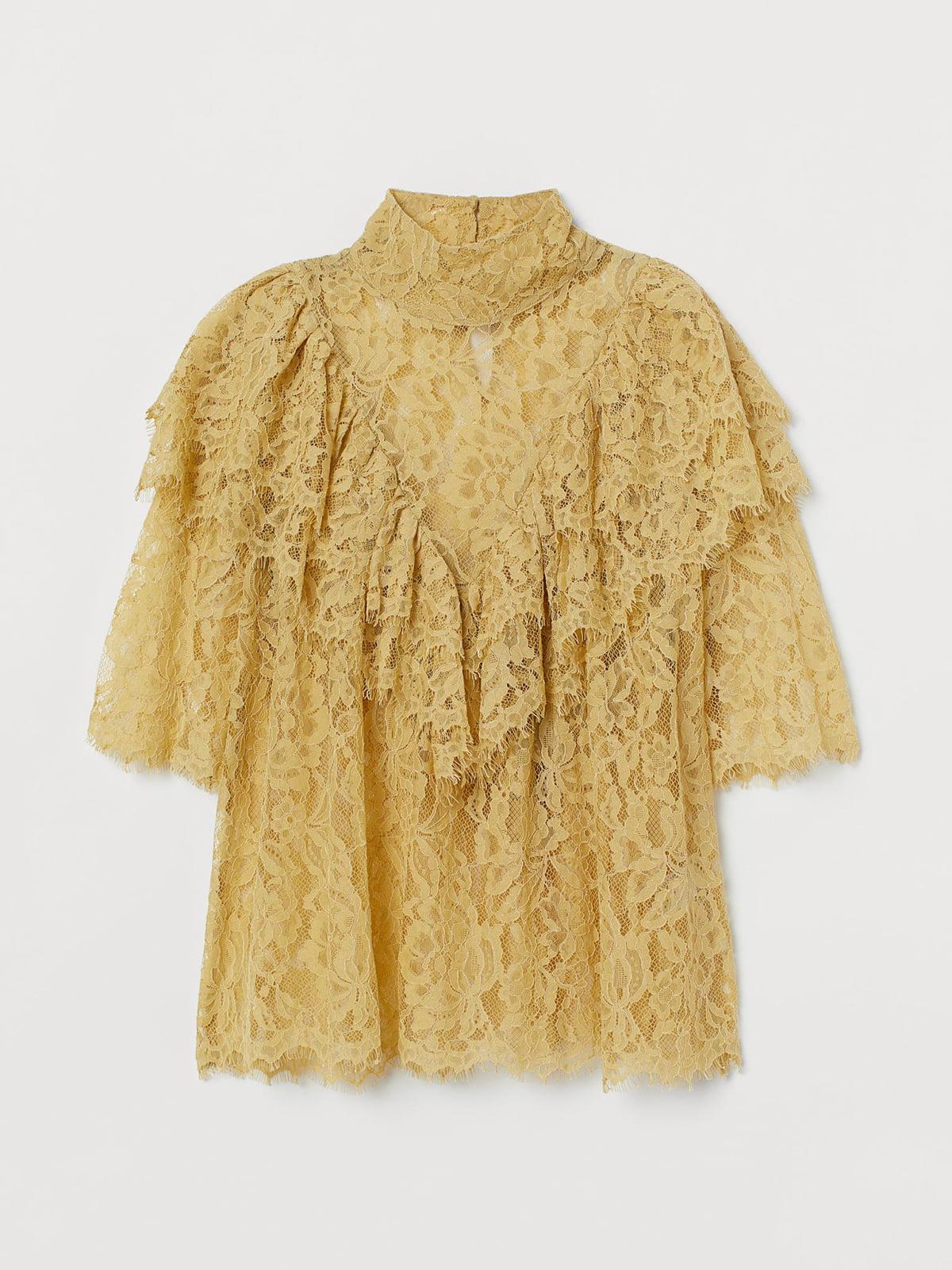 Блуза желтая | 5707254