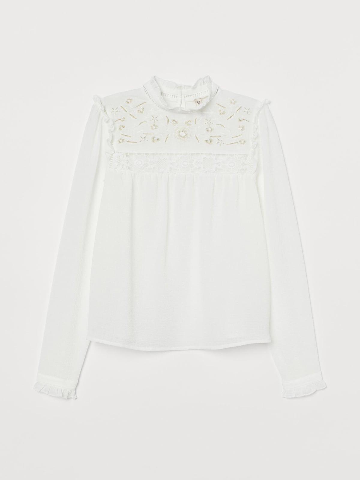 Блуза белая   5710152