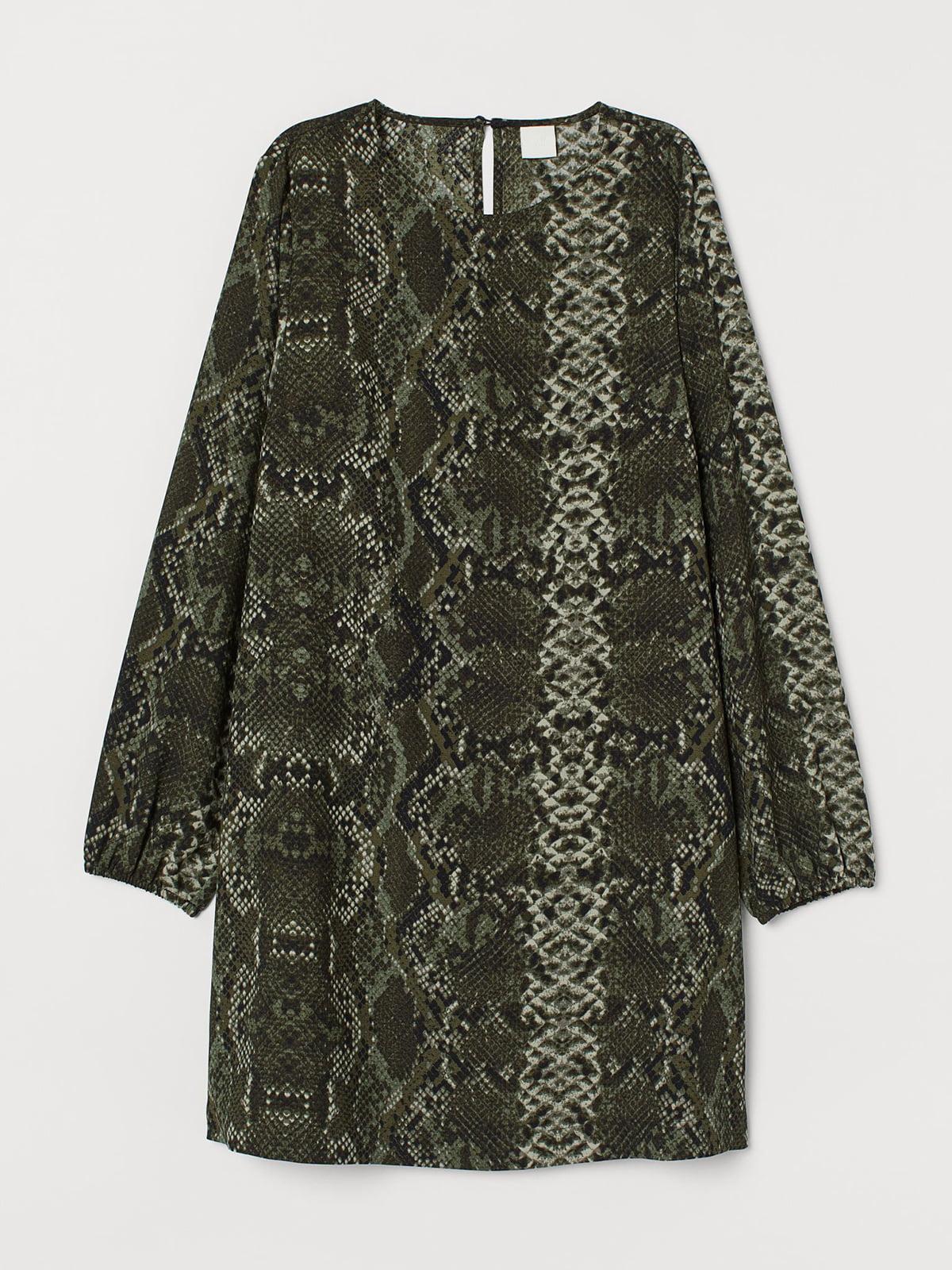 Платье анималистической расцветки | 5710154