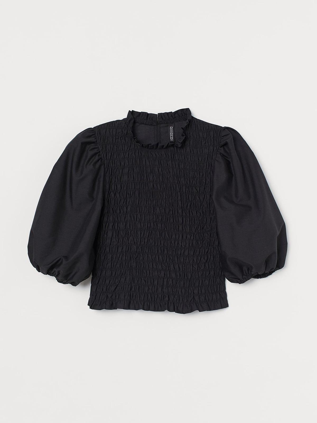 Блуза черная   5710161