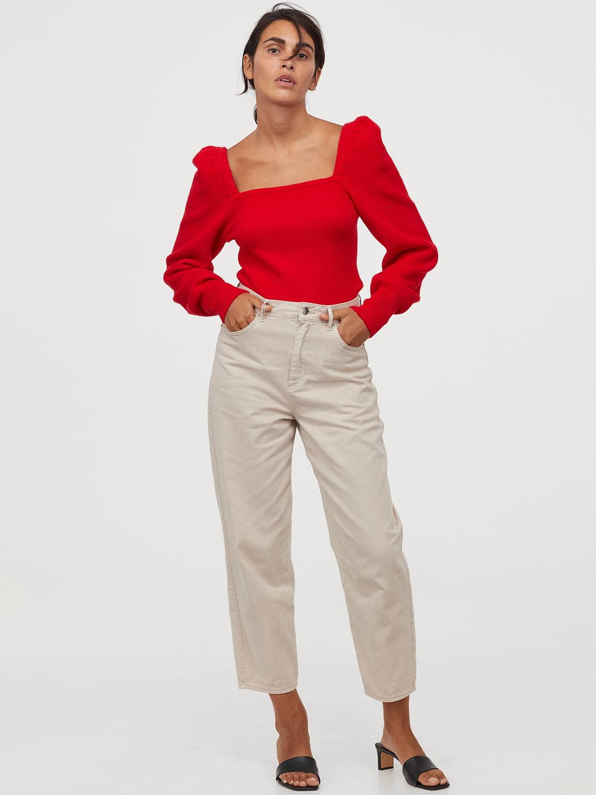 Джемпер красного цвета | 5716851