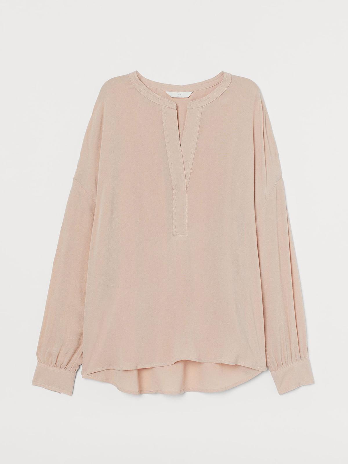 Рубашка цвета пудры | 5717050