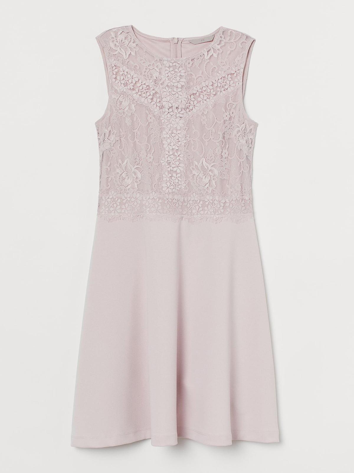 Платье цвета пудры | 5717067