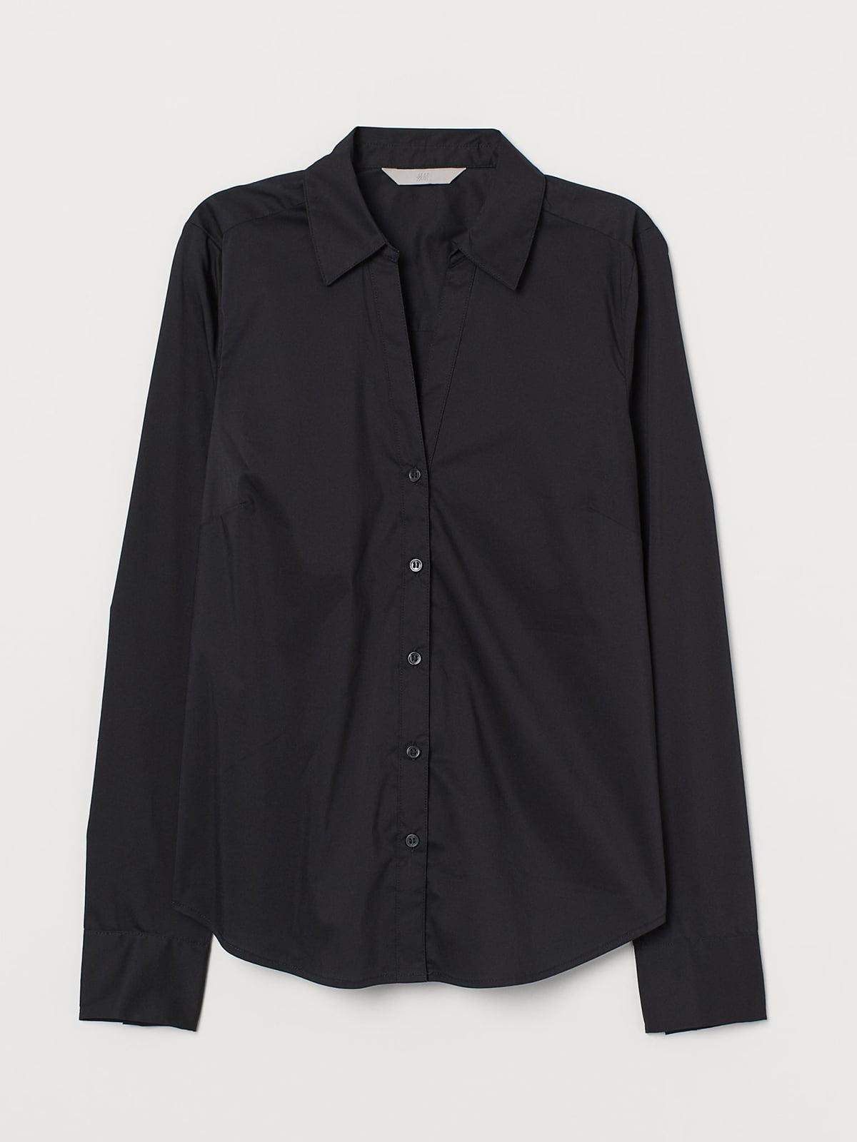 Рубашка черная | 5717073