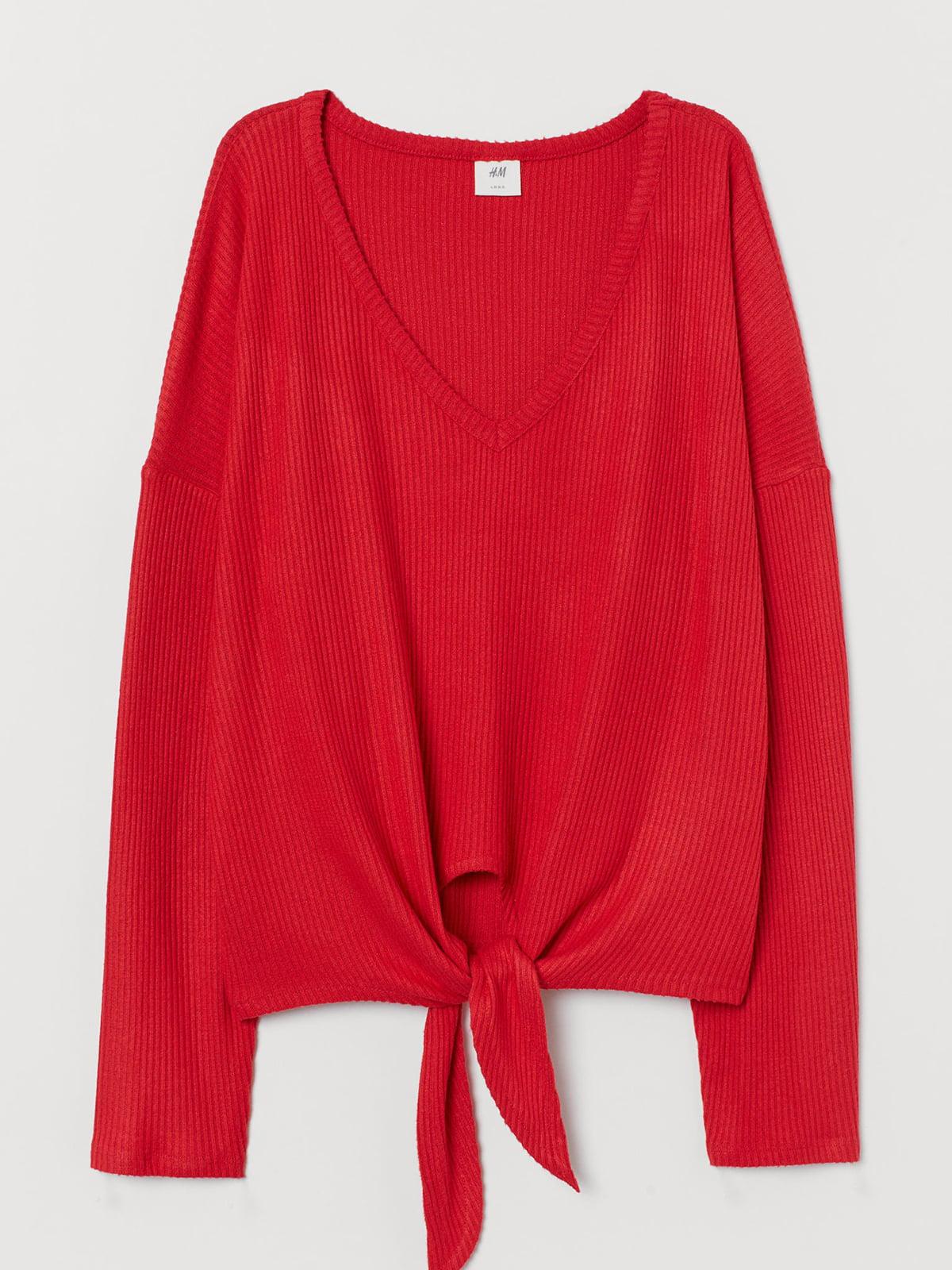 Пуловер красного цвета | 5717119