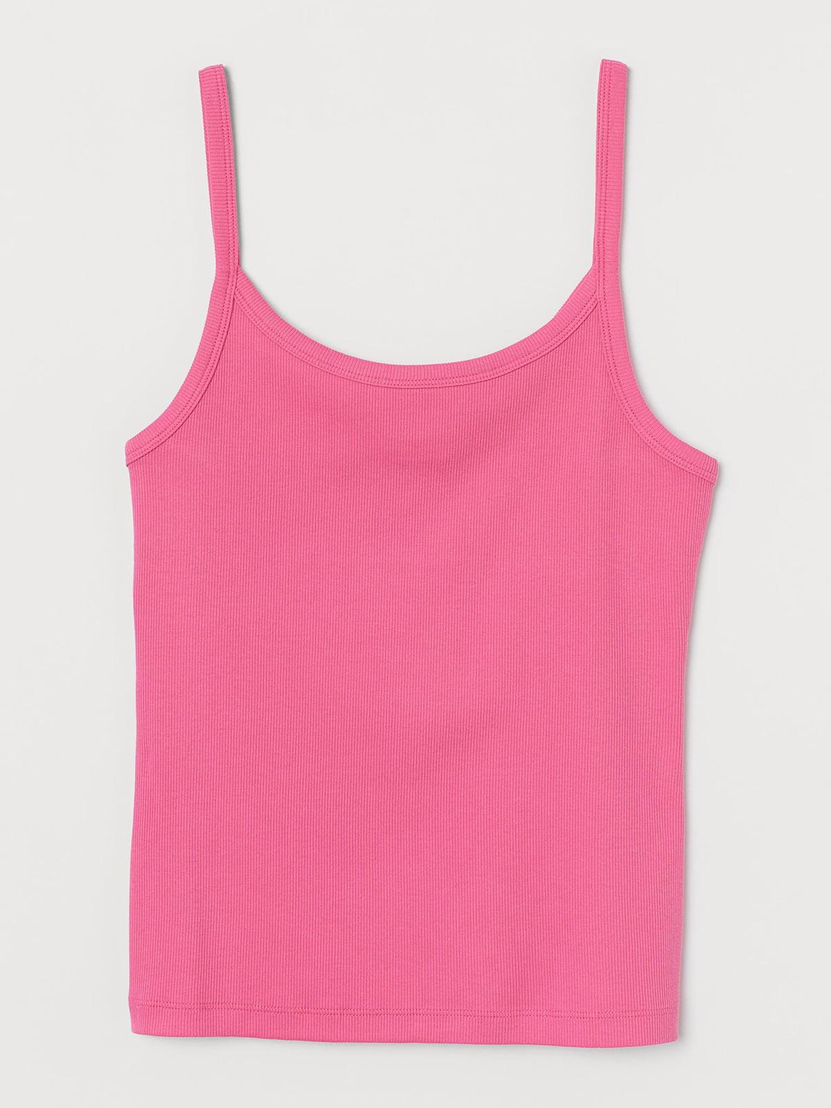 Майка розового цвета | 5717159