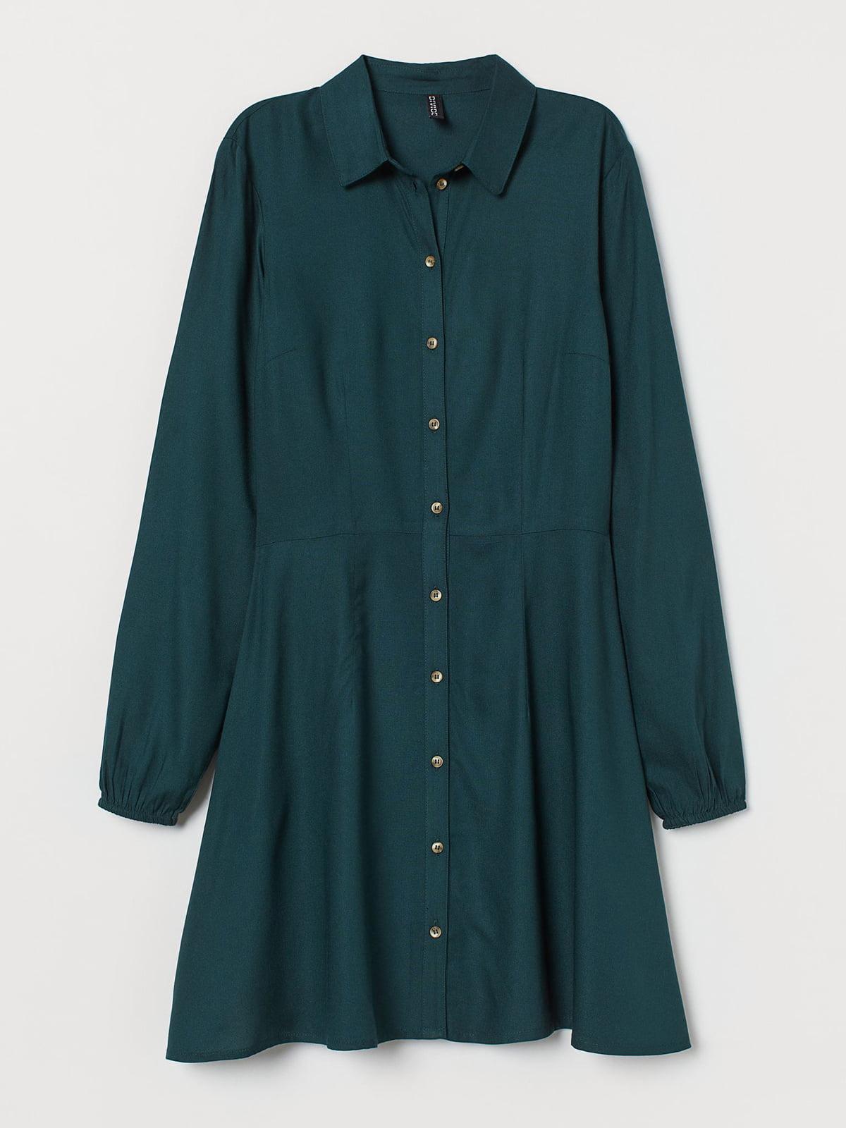 Платье зеленого цвета | 5717814