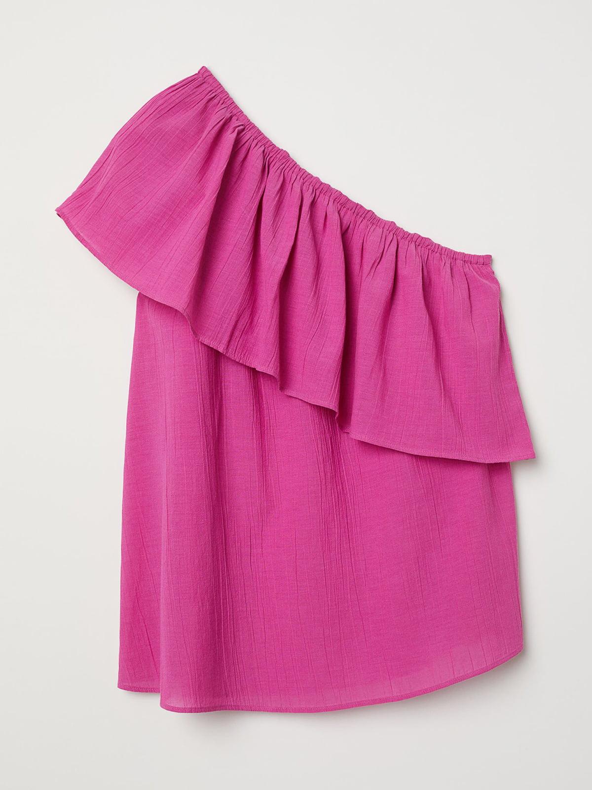 Блуза-топ розового цвета | 5717885