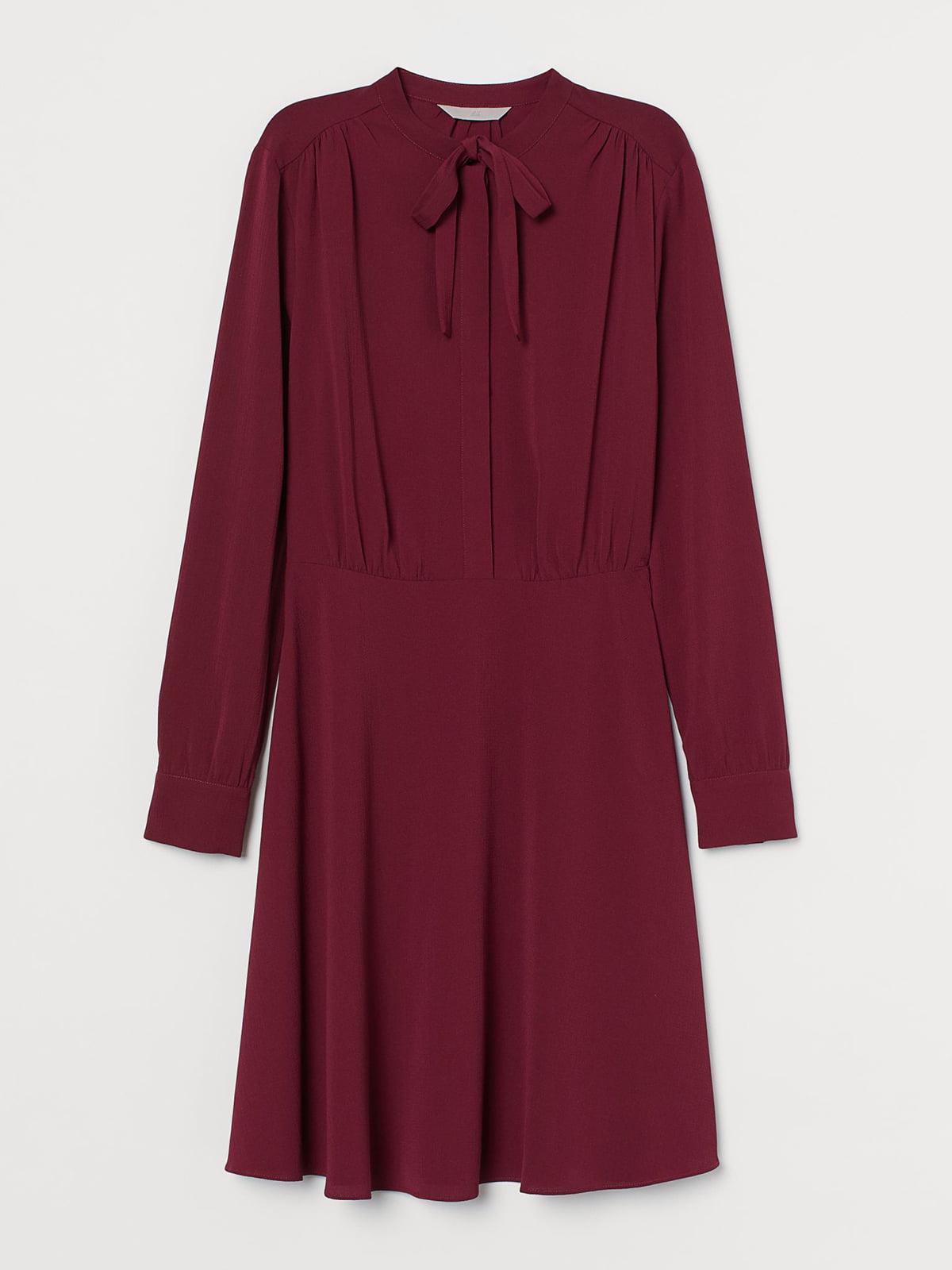 Сукня бордова | 5717896