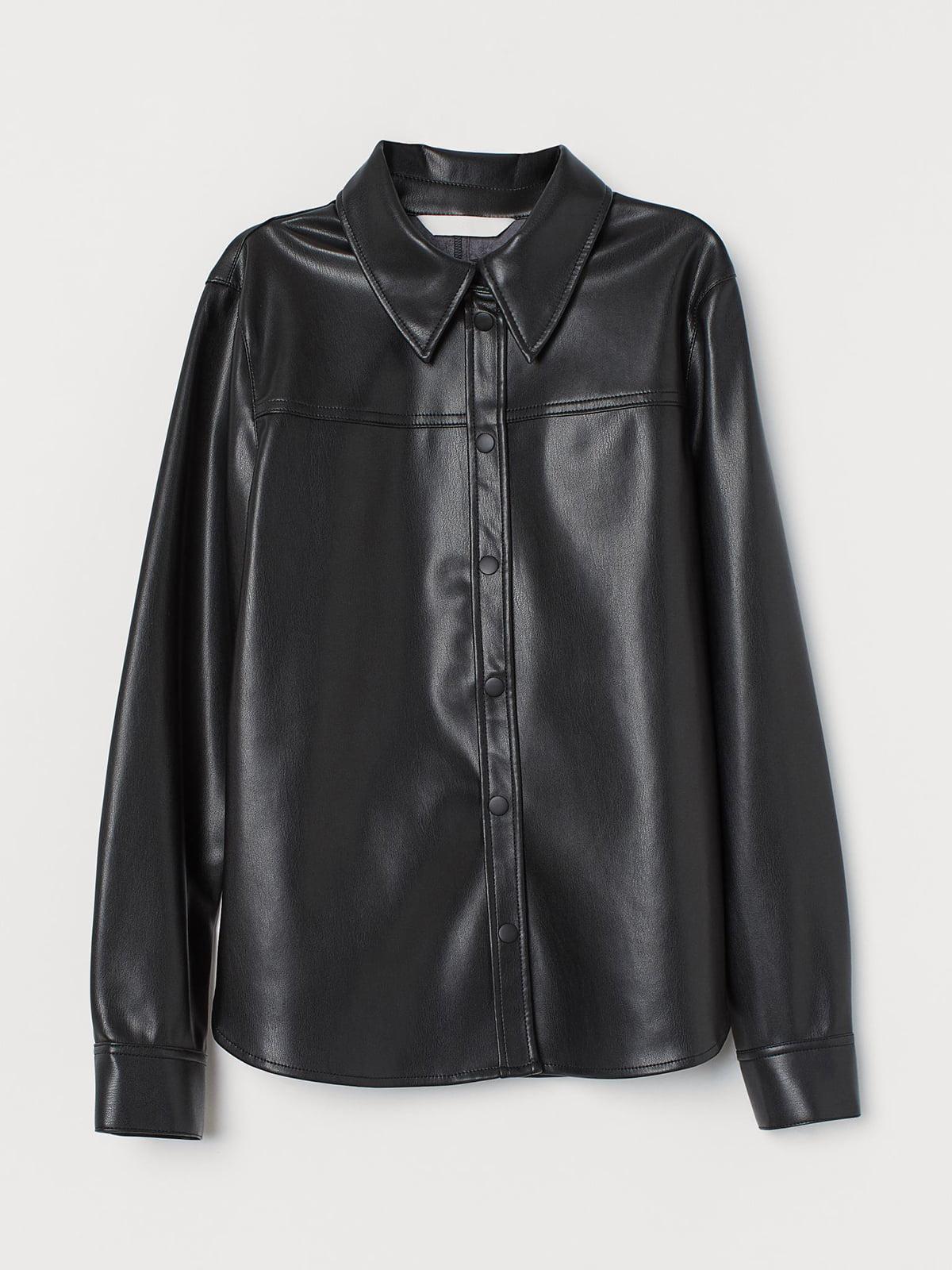 Рубашка черная | 5717939