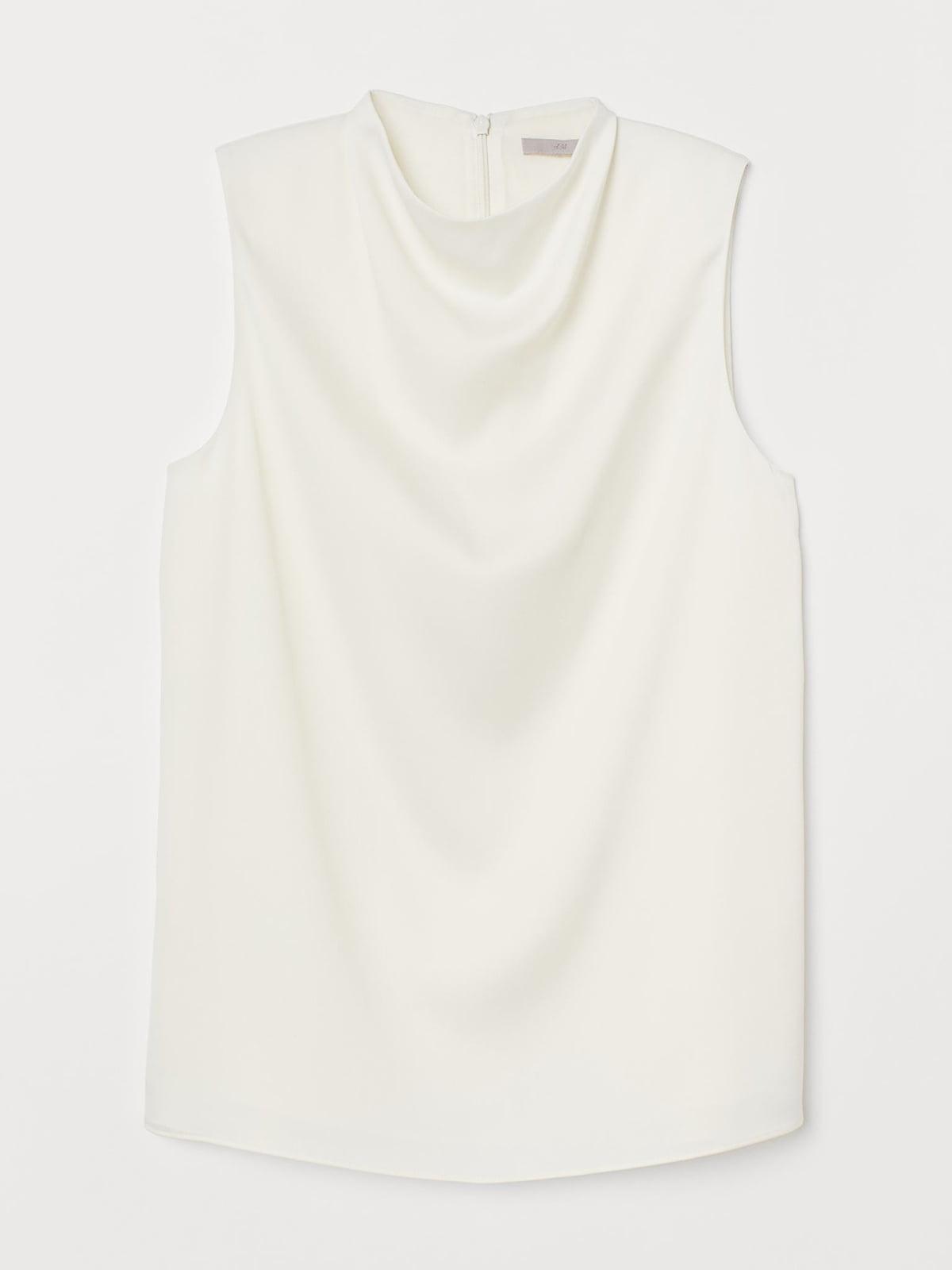Блуза молочного цвета   5717946