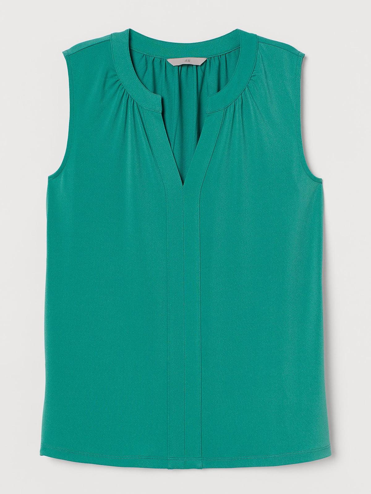 Блуза зеленого цвета | 5717957