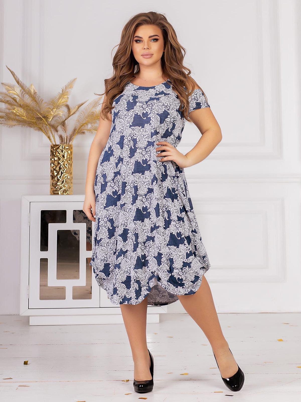 Платье в принт   5719155