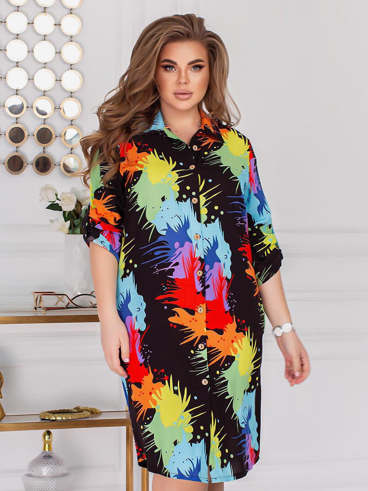 Платье в принт | 5719167