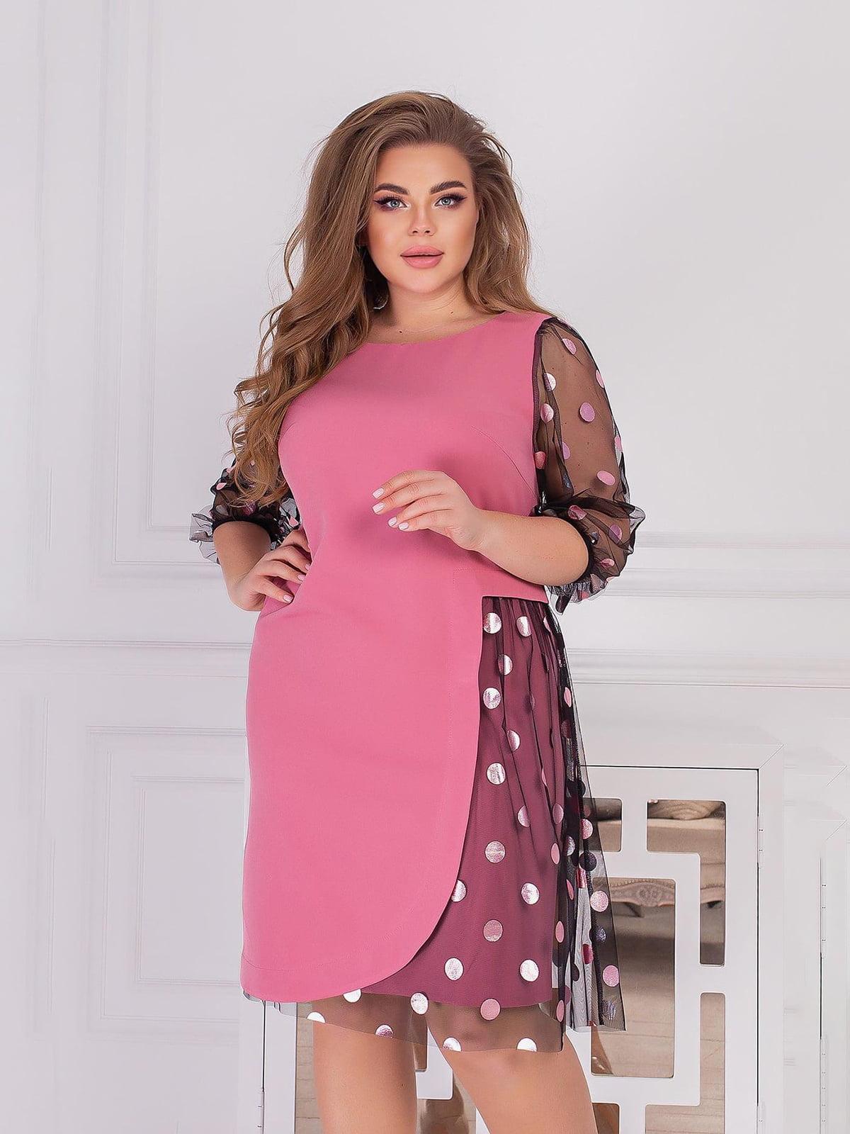 Платье розовое | 5718886