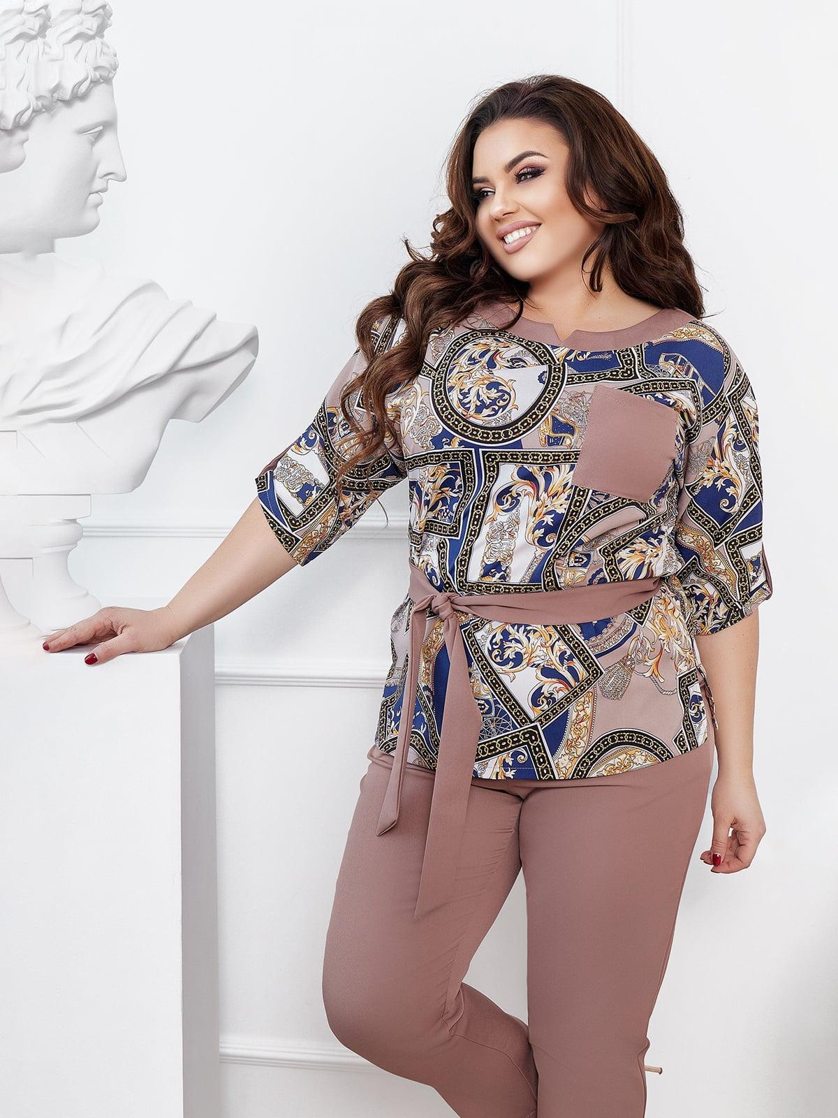 Костюм: блуза и брюки | 5718898