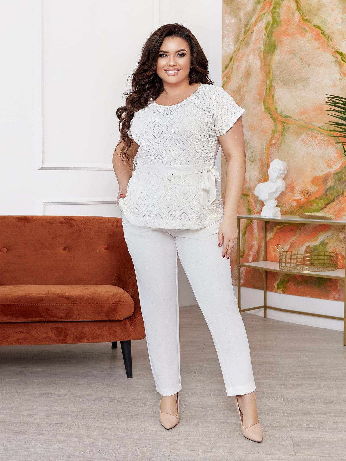 Костюм: блуза і штани | 5718901