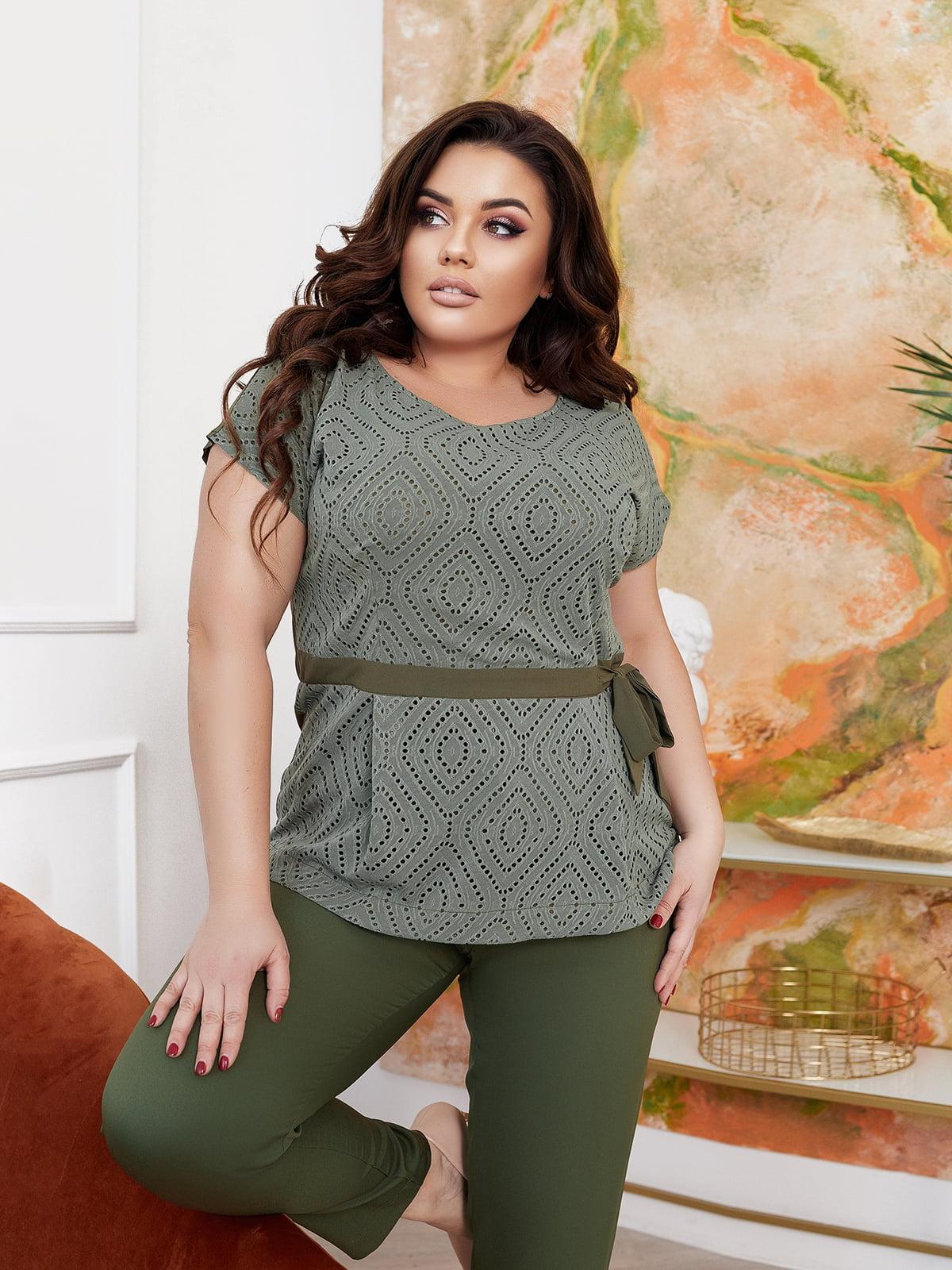 Костюм: блуза і штани   5718902