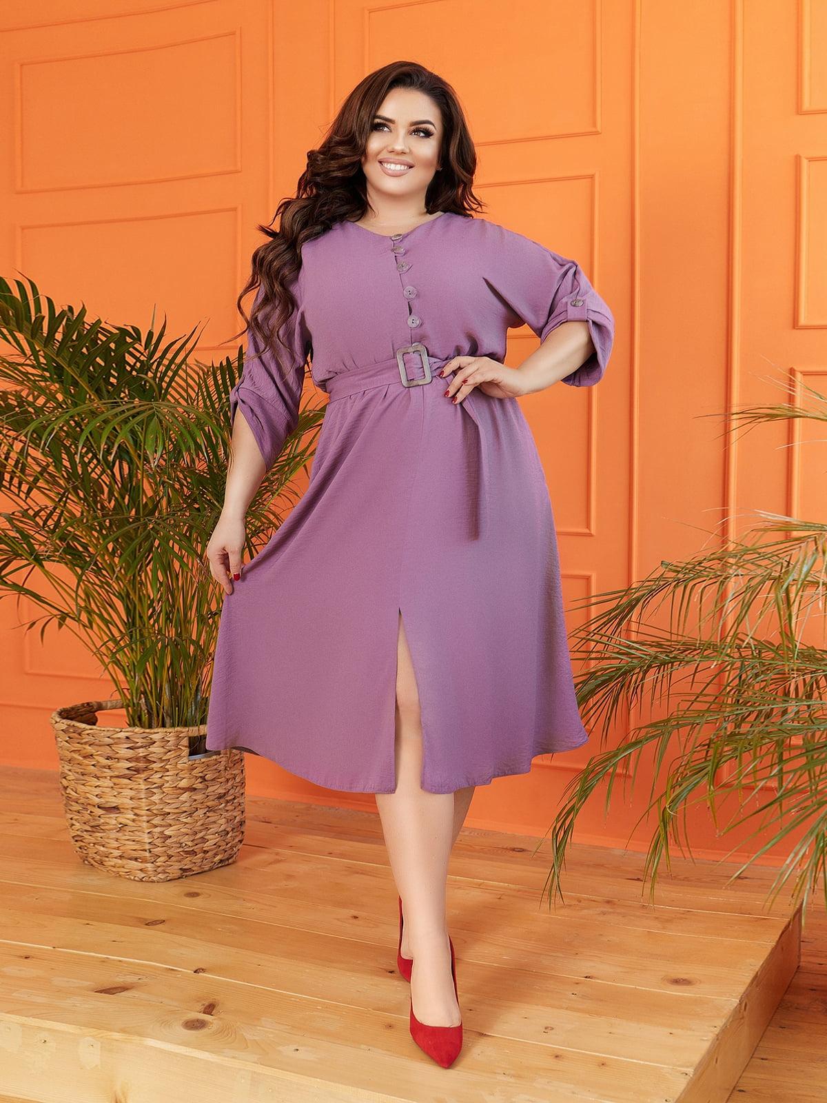 Сукня кольору чорниці | 5718904