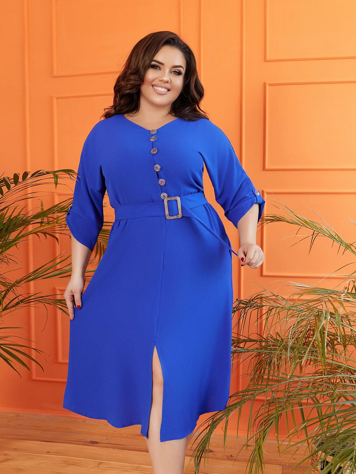 Платье синее | 5718905