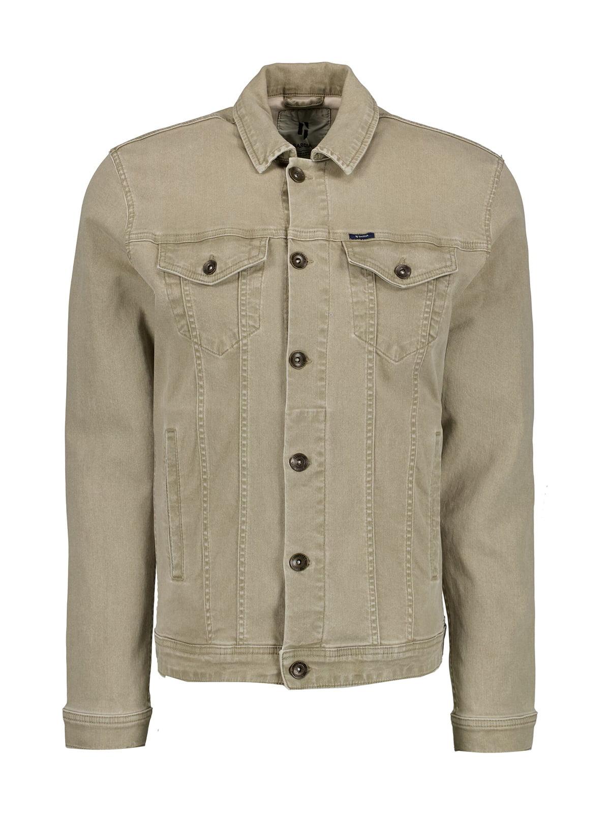 Пиджак цвета хаки | 5722015