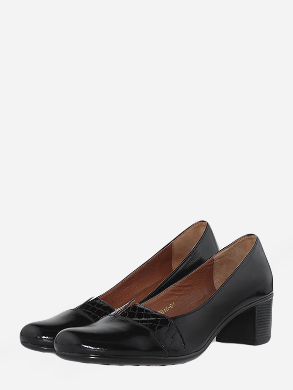 Туфлі чорні | 5718052