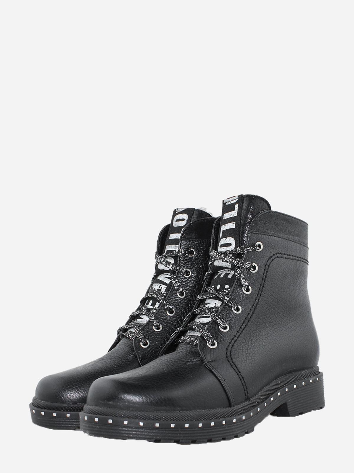 Черевики чорні | 5725570