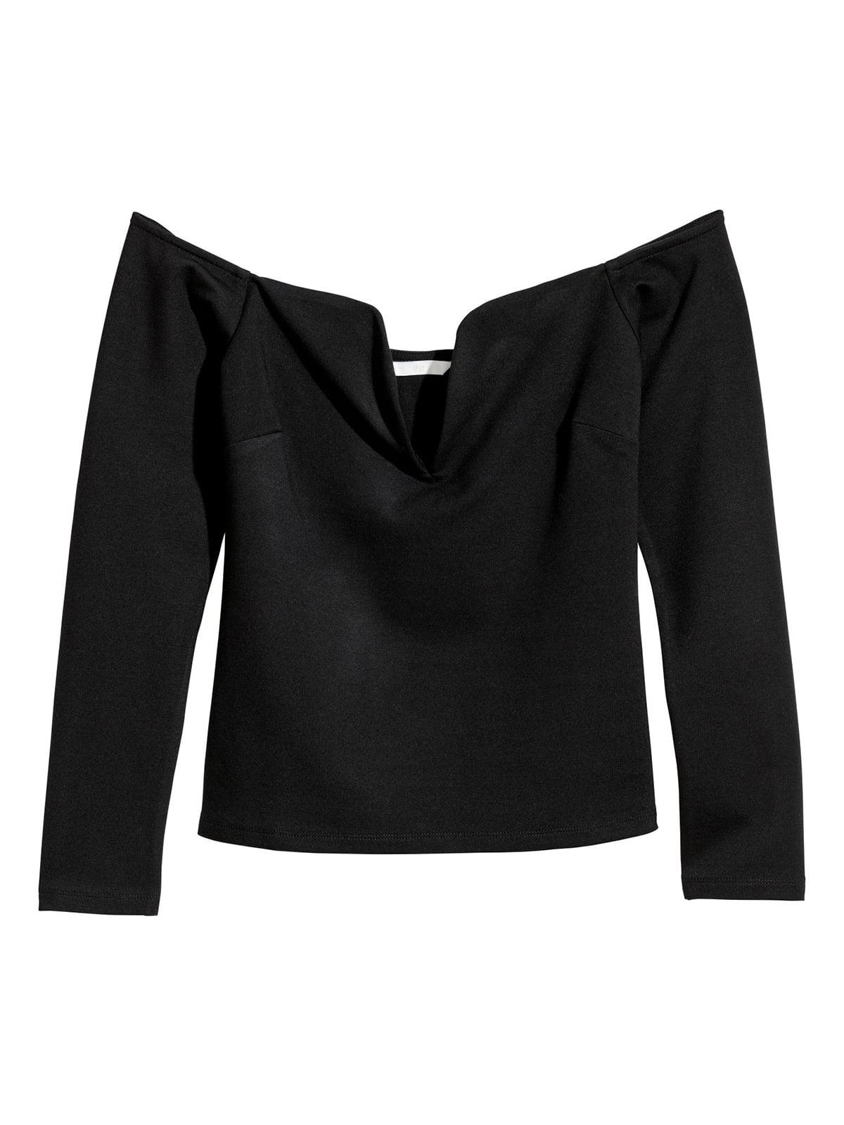 Блуза черная | 5608338