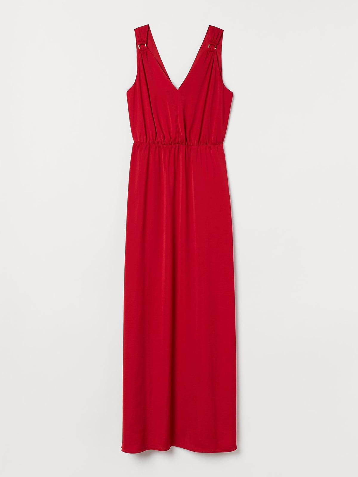 Платье красное | 5721678