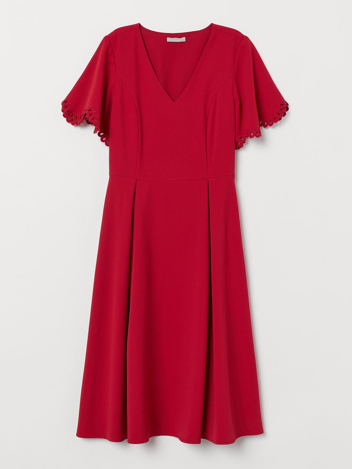Платье красное   5721702