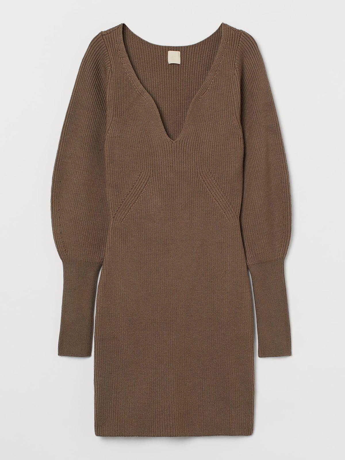Платье коричневое   5721720