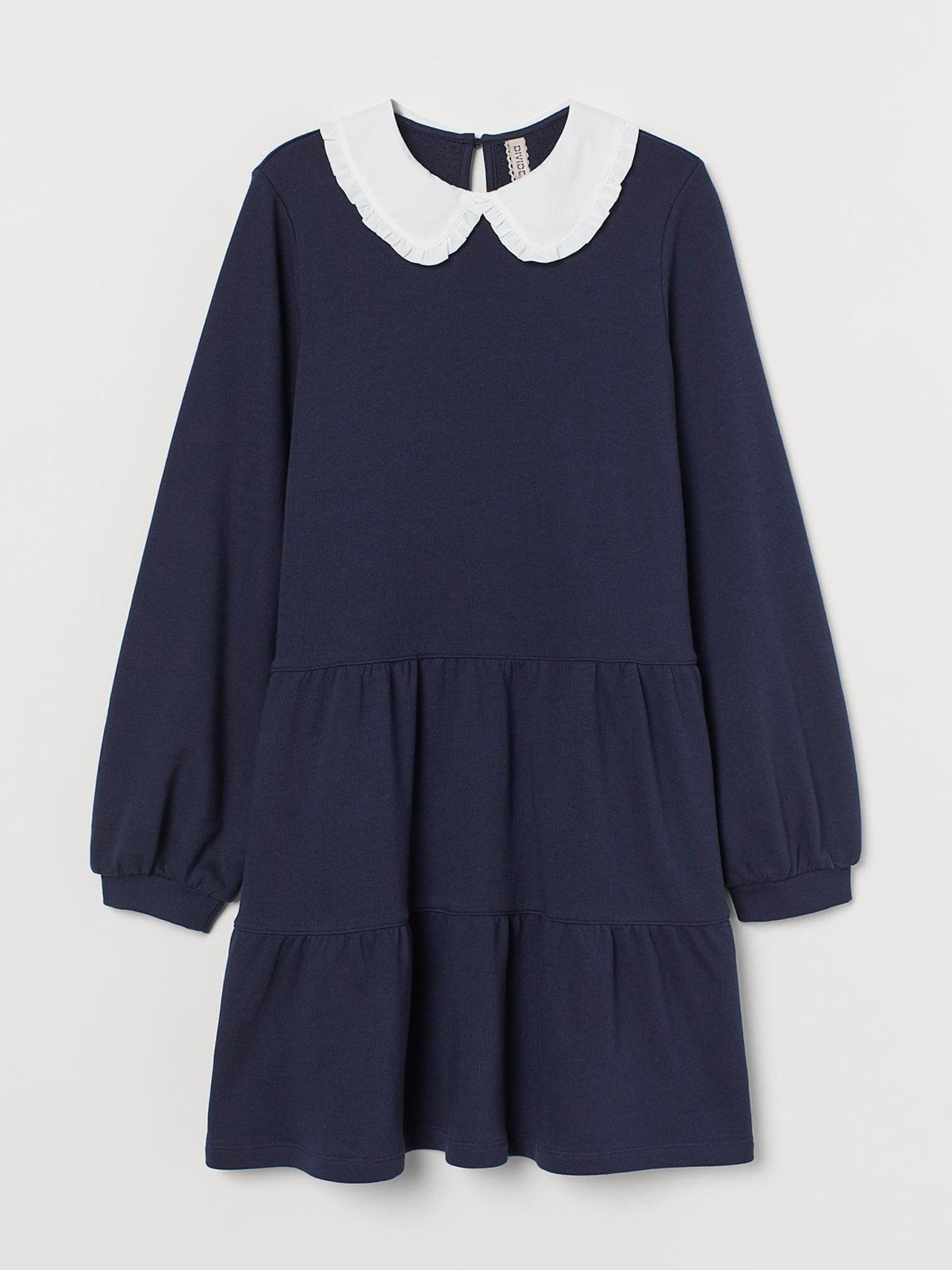 Платье темно-синее | 5721725