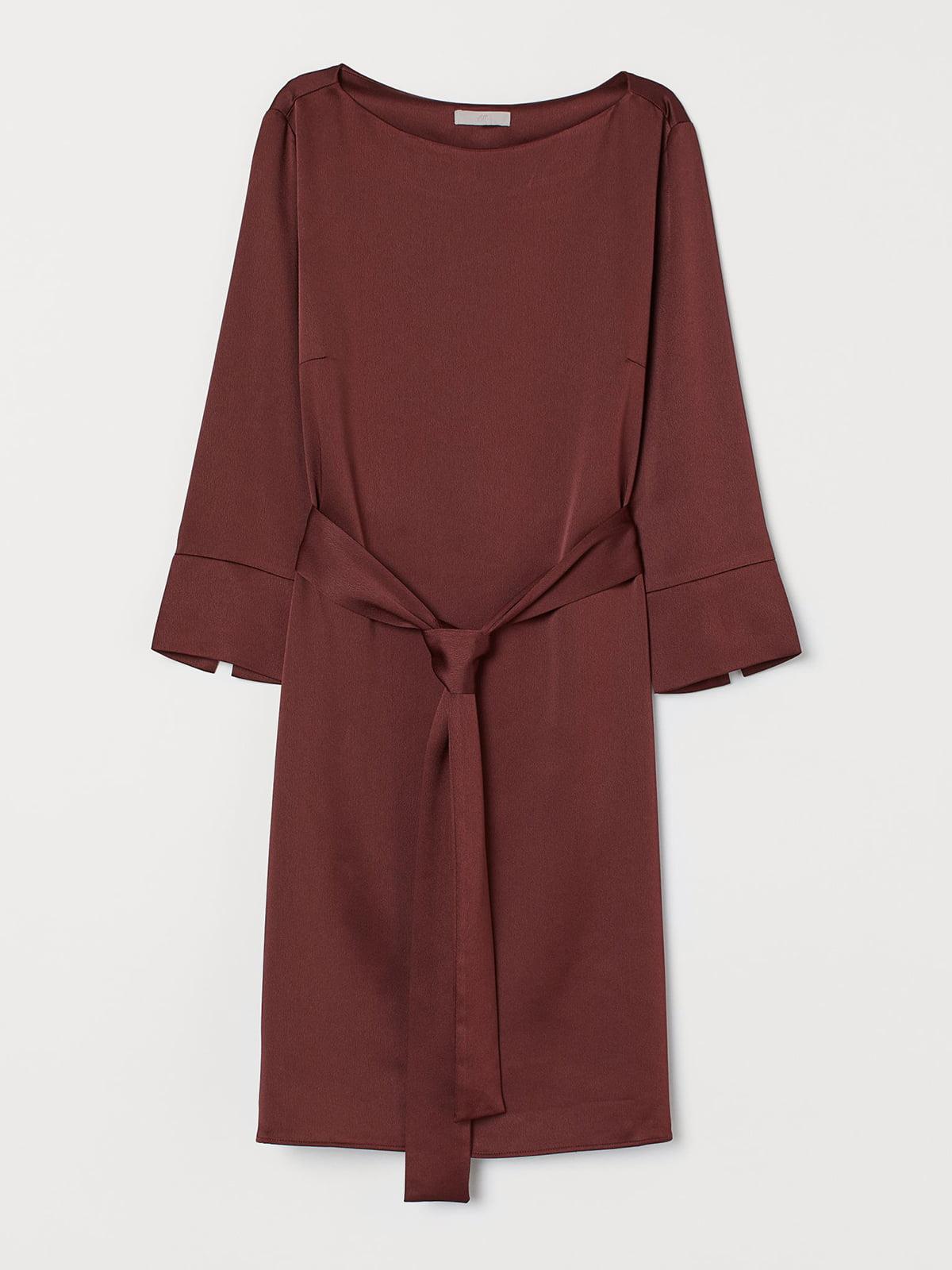 Платье бордовое | 5721750