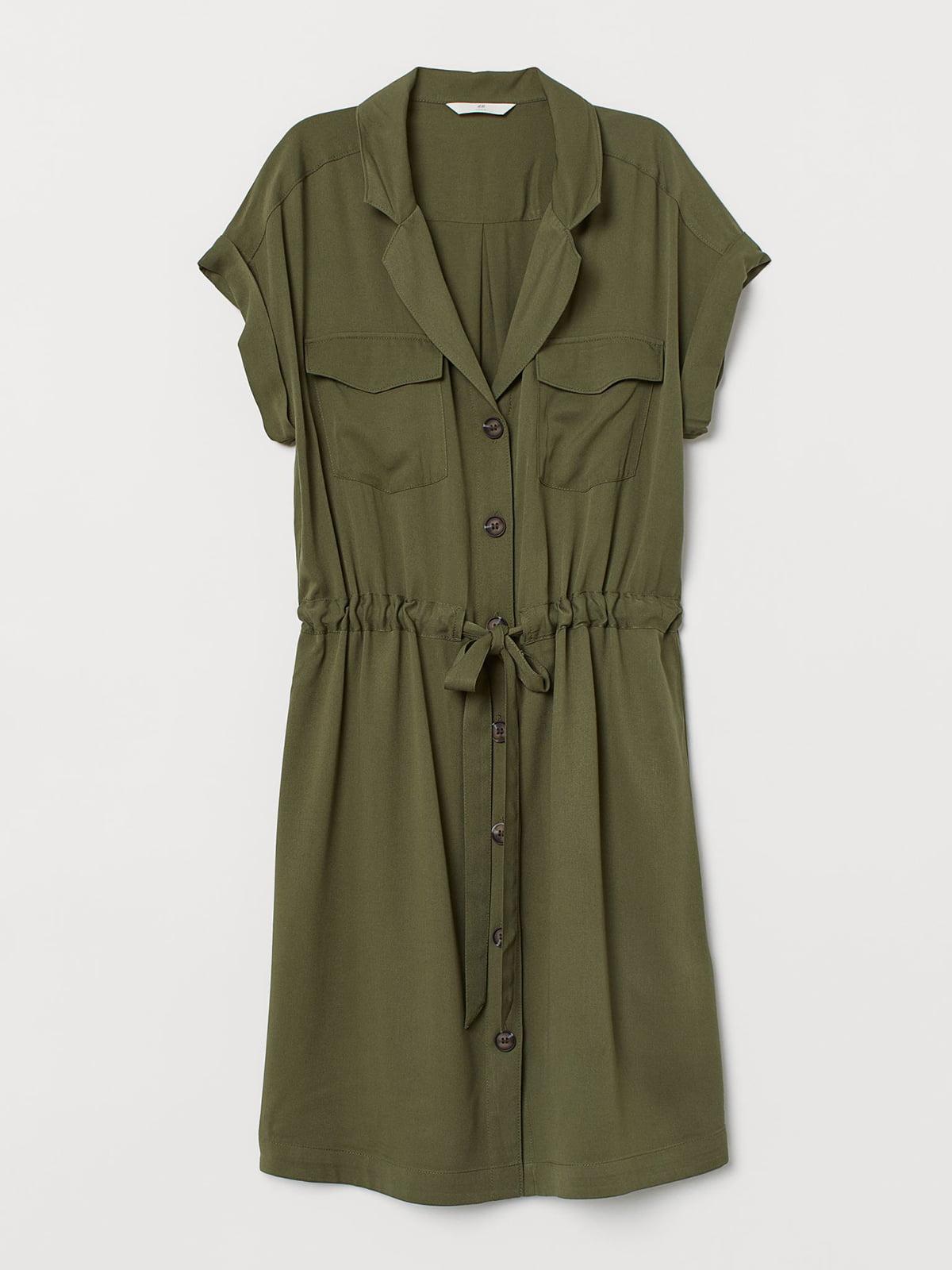 Платье цвета хаки | 5721757