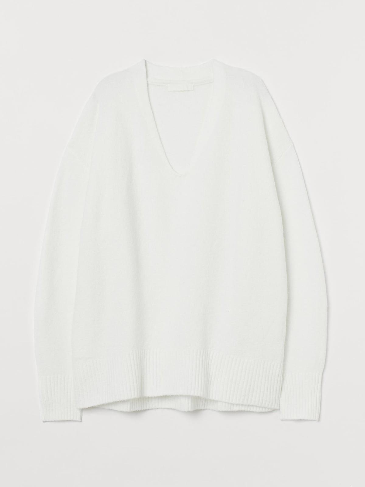 Пуловер белый | 5725606