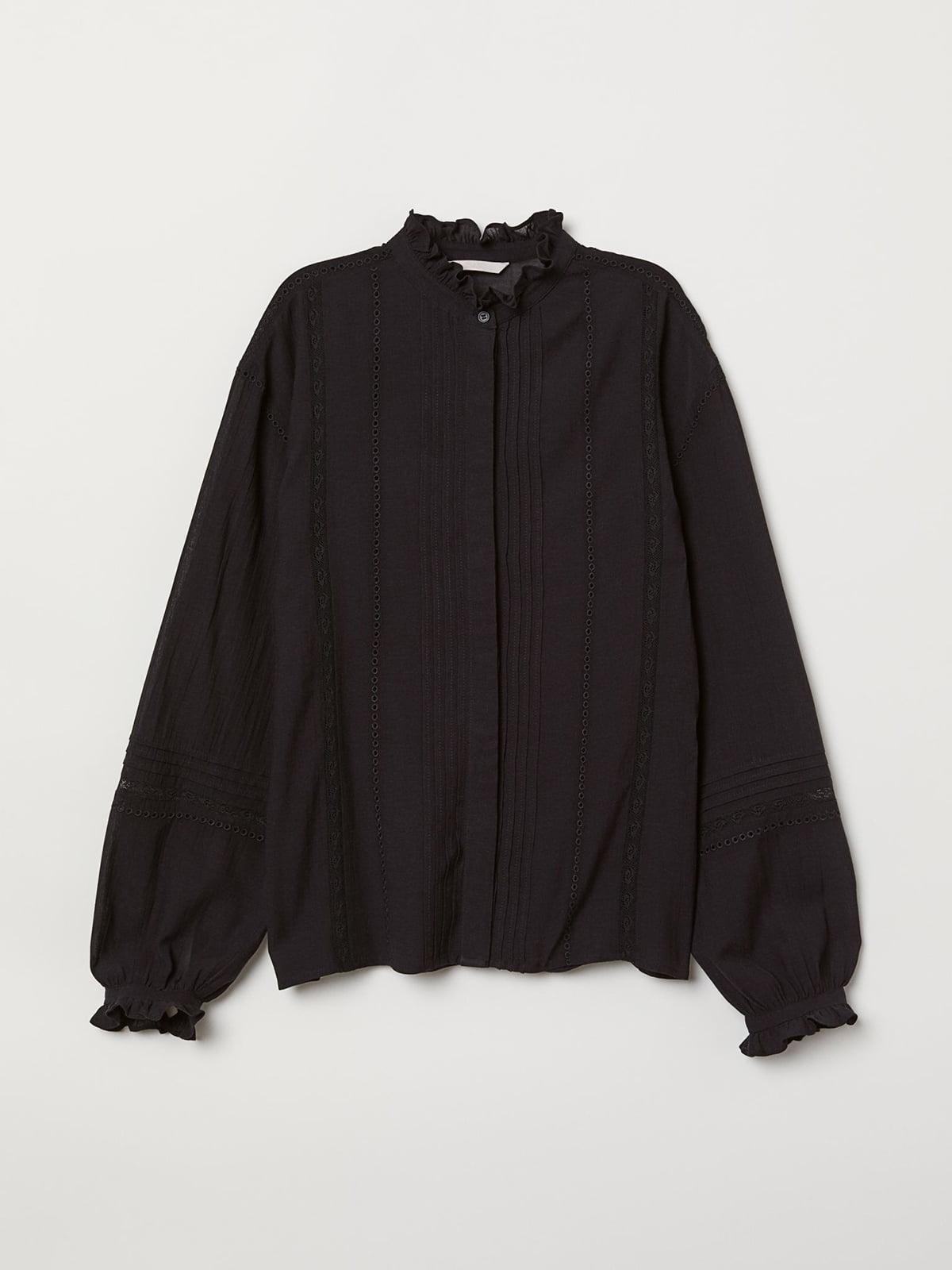 Блуза черная | 5725619