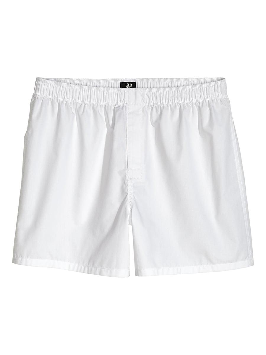 Трусы-шорты белые   5726473