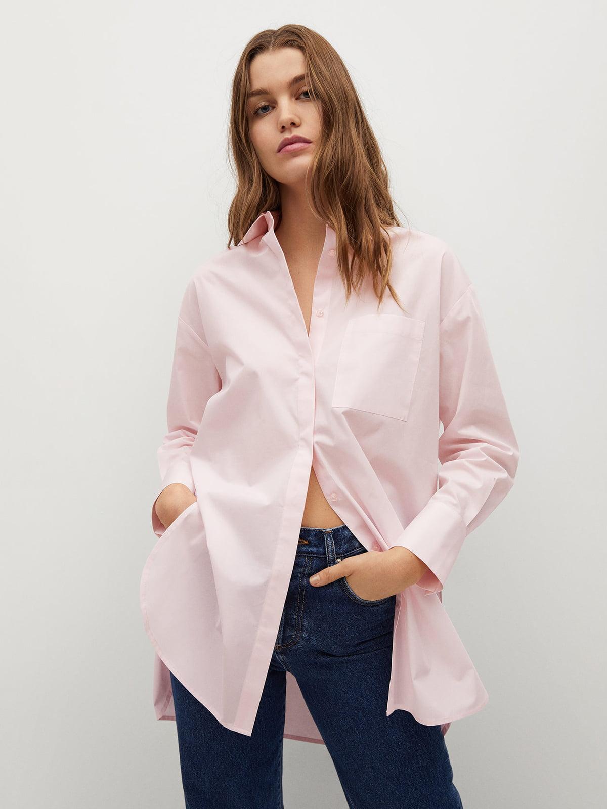 Рубашка розовая | 5730407