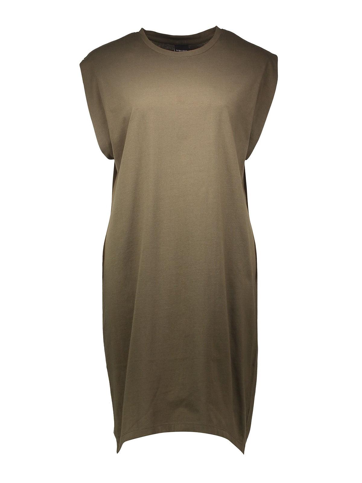 Платье цвета хаки | 5741078