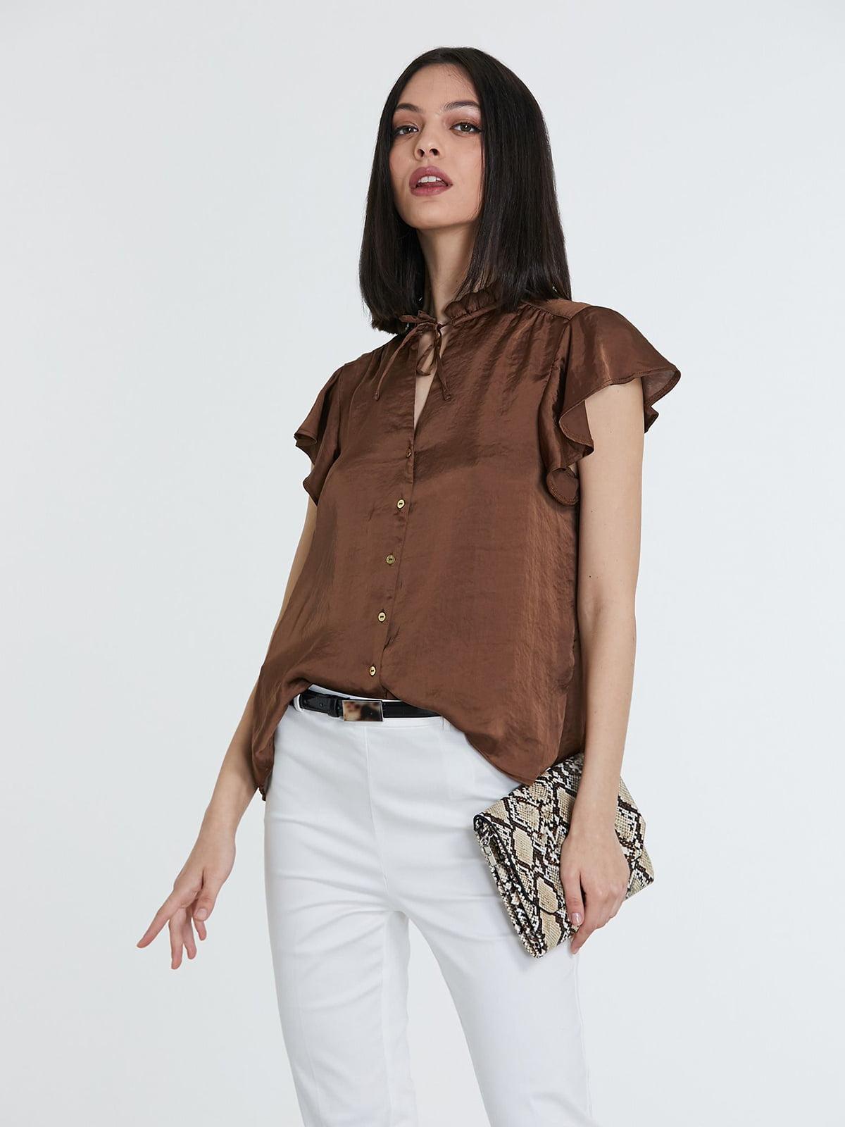 Блуза коричневая | 5741297