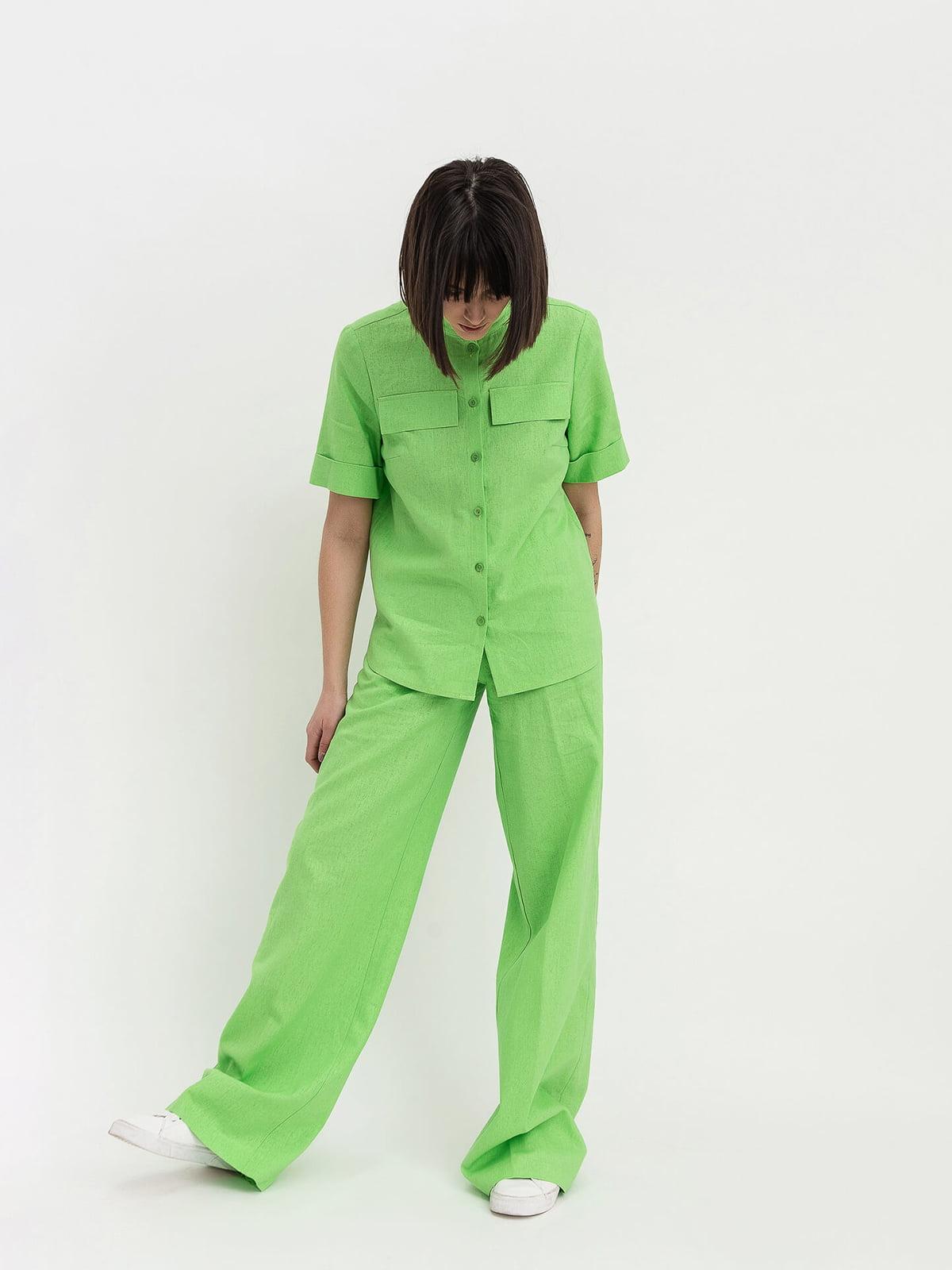 Костюм: блуза и брюки | 4302425
