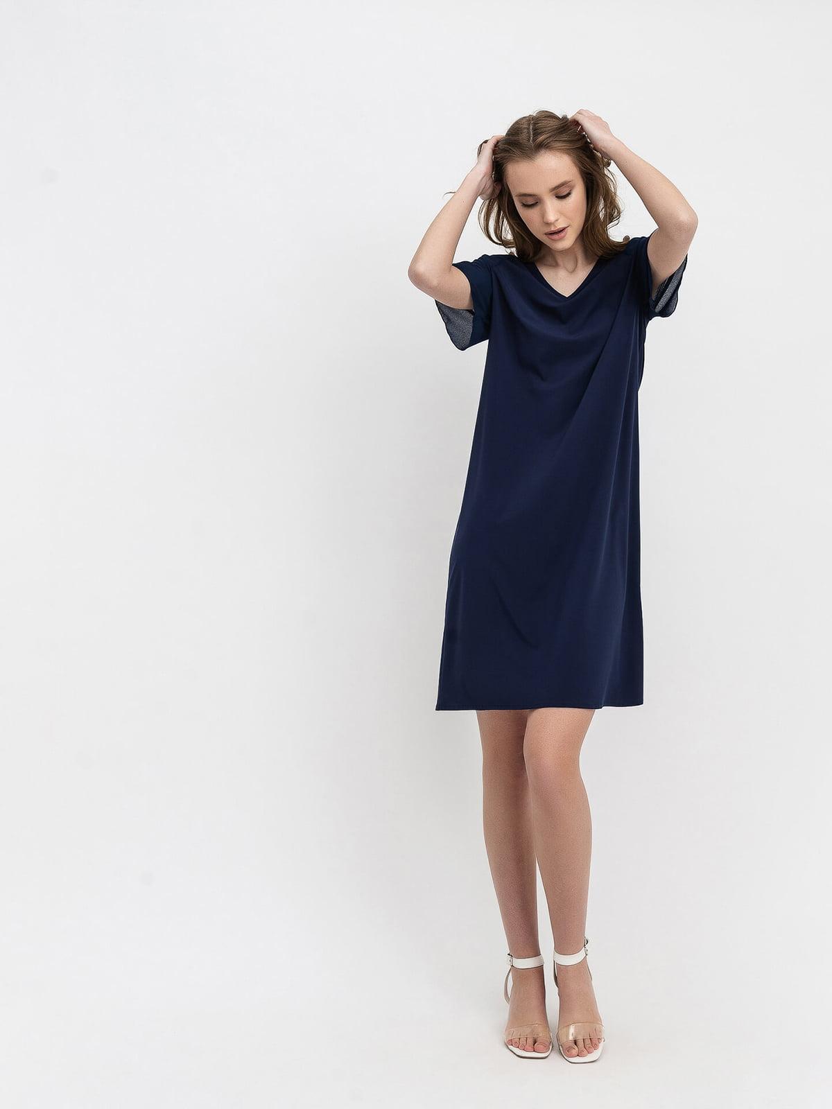 Платье синее   4973667