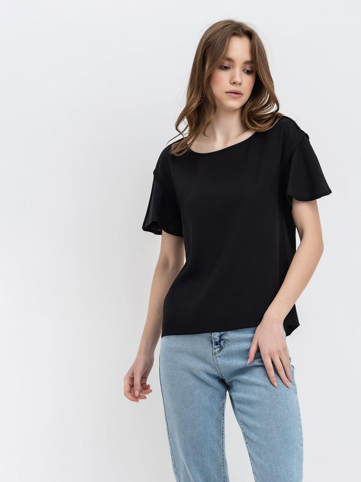 Блуза черная   5115754