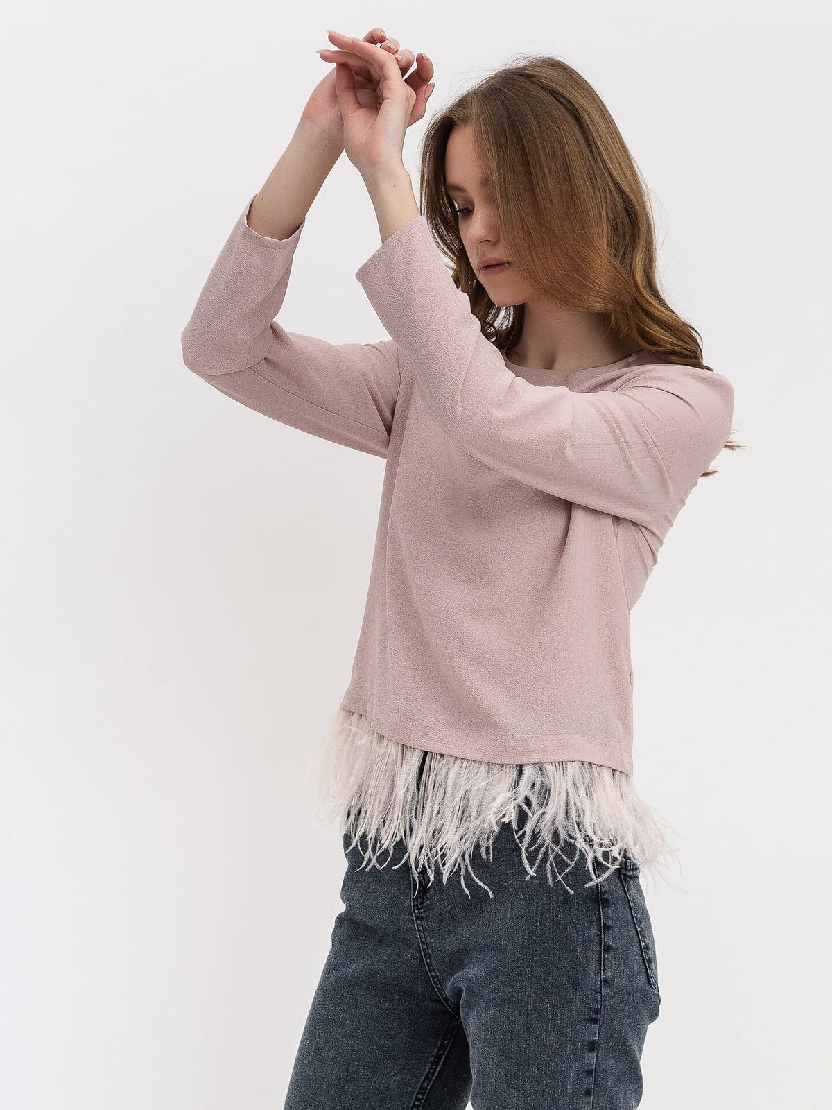 Блуза розовая | 5115757