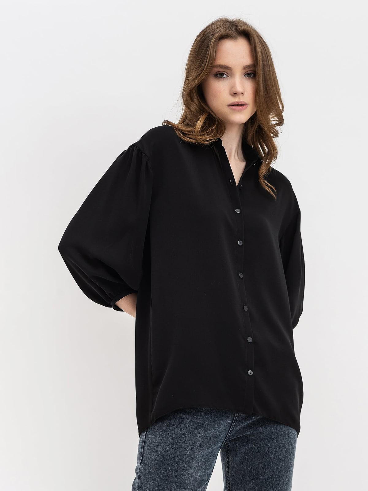 Рубашка черная | 5115791